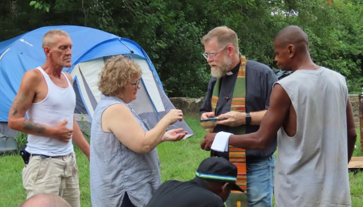 Homeless churches helping homeless people:  Part Two