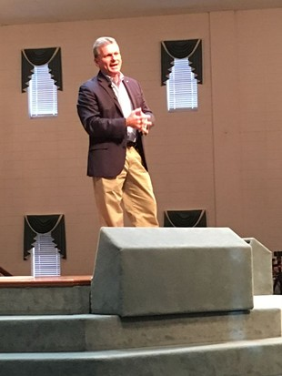 Carter town hall provides  confrontation, entertainment