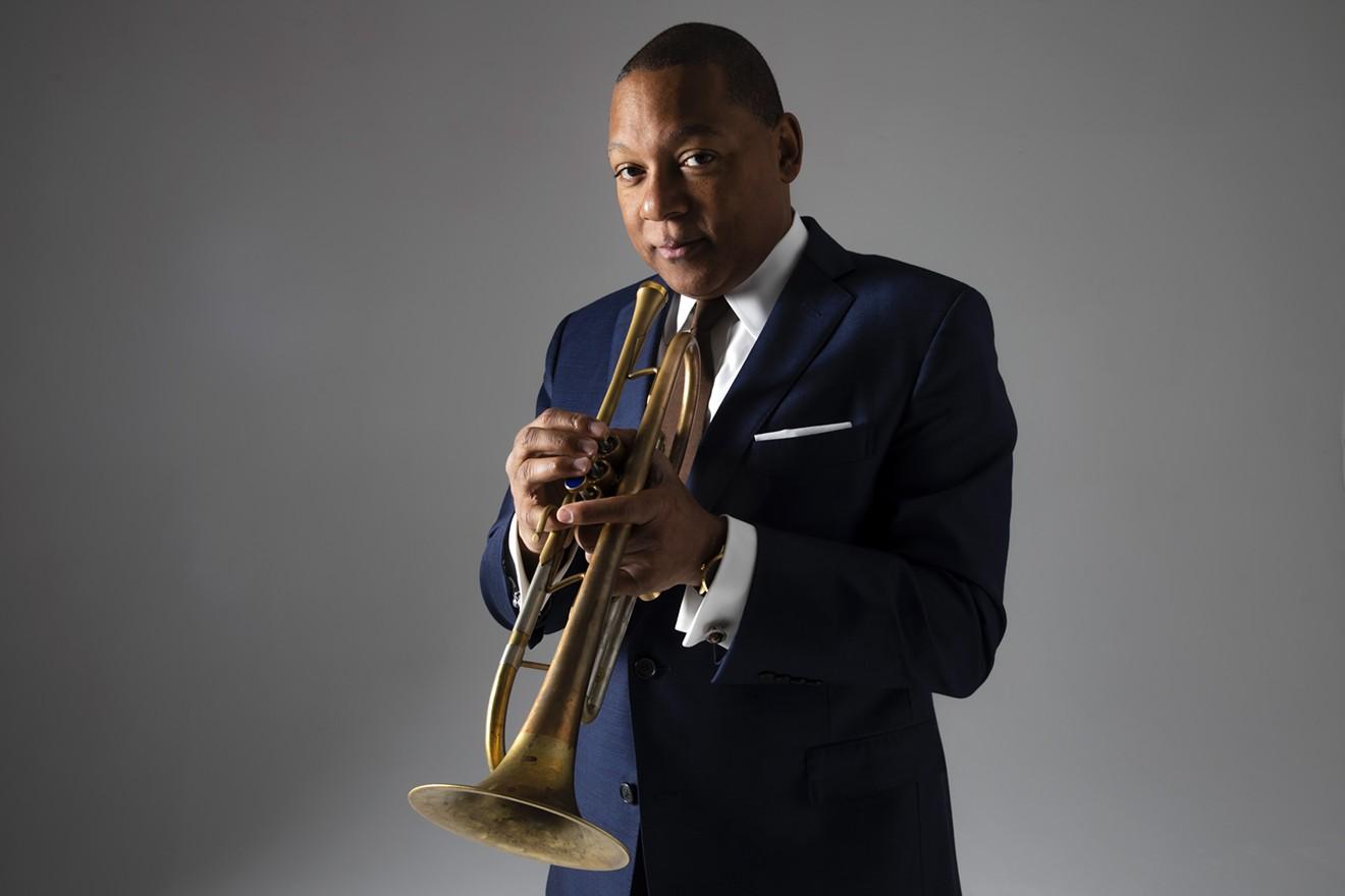 Jazz at Lincoln Center Orchestra Septet Music Director Wynton Marsalis.