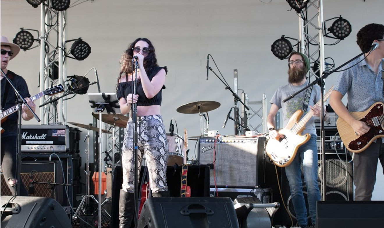 Local band DRAUCKER performs live for a crowd of fans. DRAUCKER will officially kick off the new Moon Deck LIVE at Electric Moon series July 15 at Plant Riverside District in Savannah.