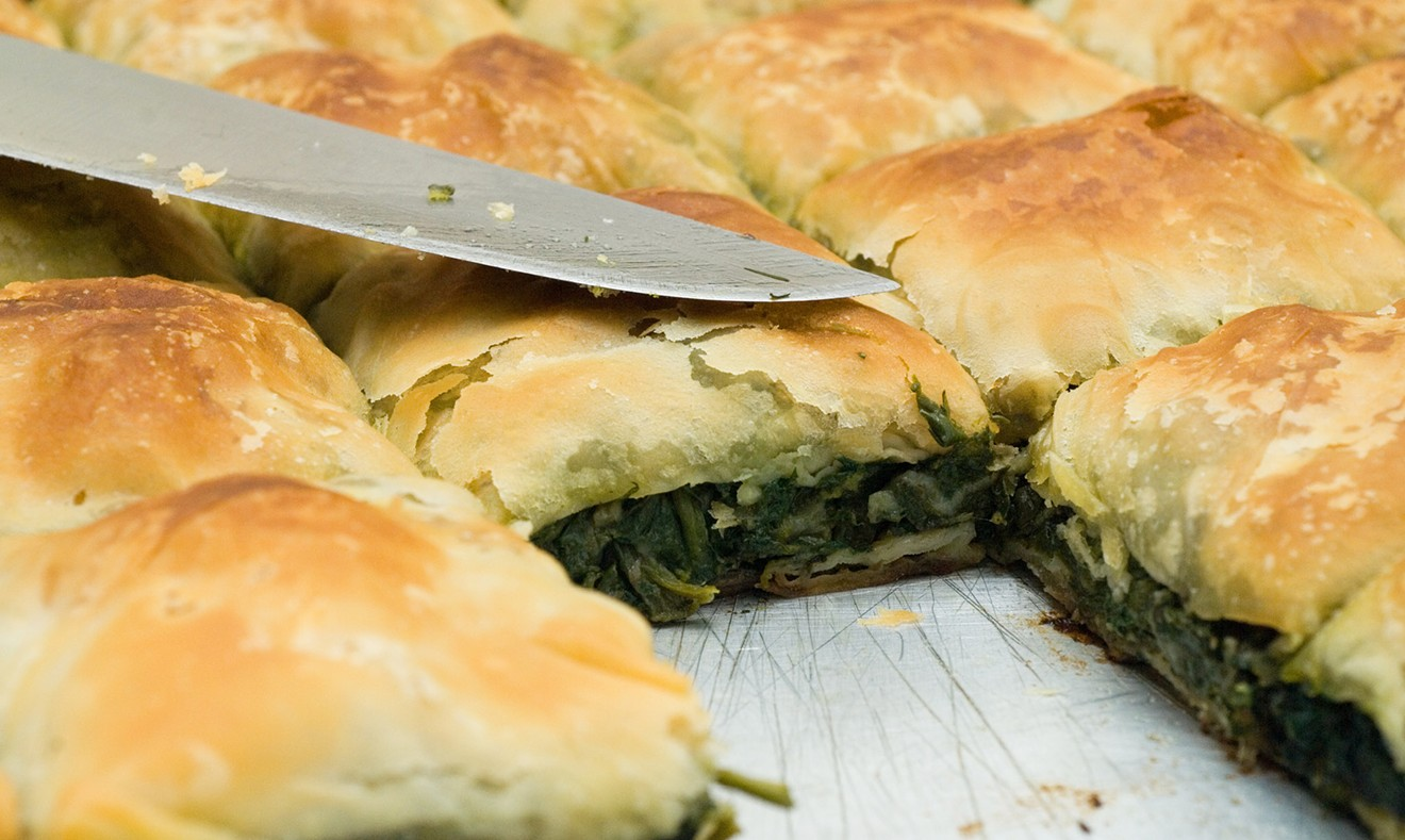 Spanakopita. Orders for this year's Savannah Greek Festival can be placed online for pickup during the festival.