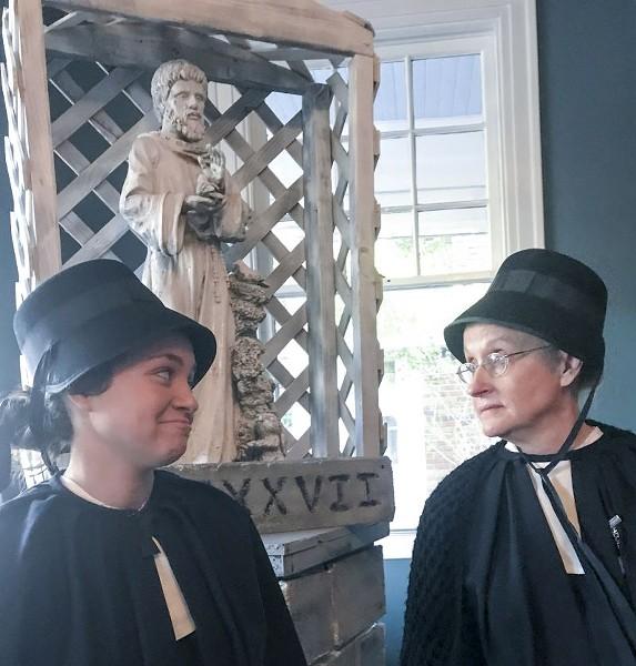 Maia Collins and Malinda Smith