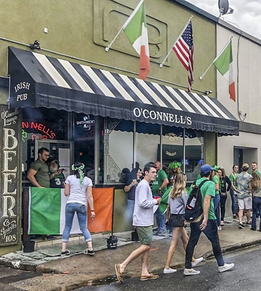 O'Connell's on Drayton Street on a recent St. Patrick's Day.