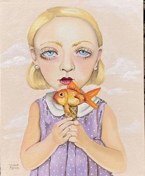 """""""Something's Fishy"""" by Tiffany O'Brien."""