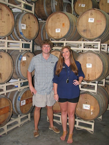 Smith Mathews and Carly Wiggins of Southbound Brewing