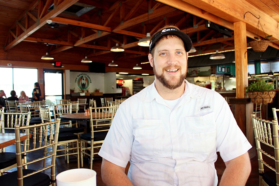 Kirk Blaine is the owner and executive chef of The Howlin Hound.