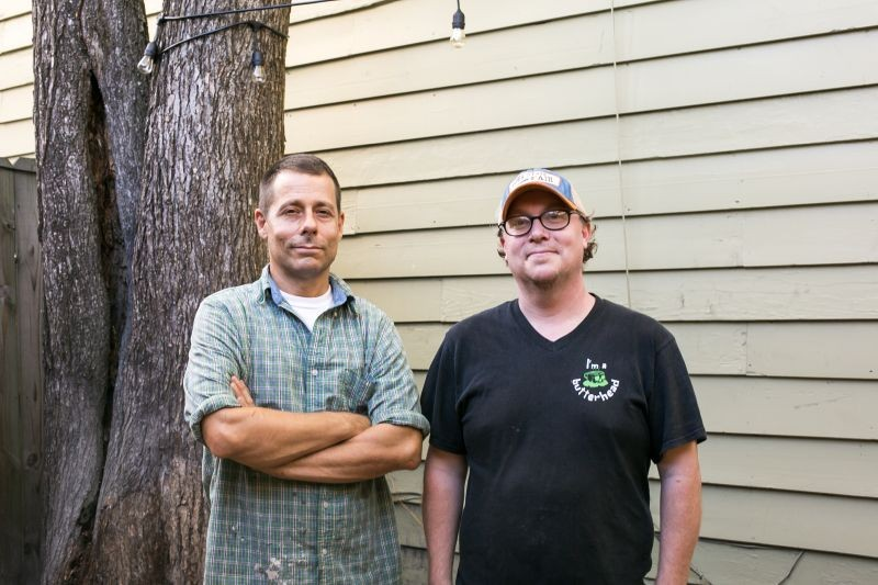 David Hutchison, left, and Patrick Zimmerman.