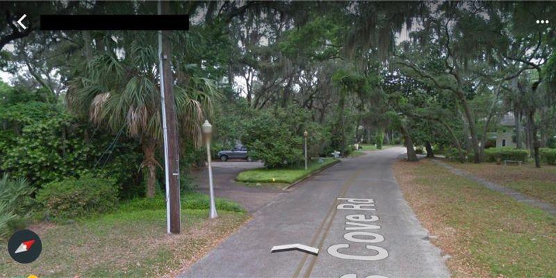 Cove Road before Hurricane Michael