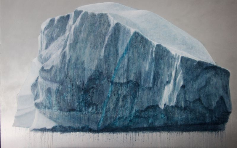 """Melting Iceberg"" by Lisa Lebofsky."