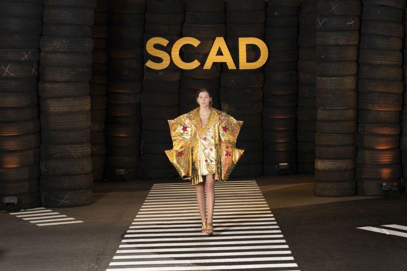 Apolonio's looks on the runway last weekend in Atlanta. - SCAD
