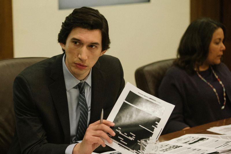 "Adam Driver in ""The Report."""