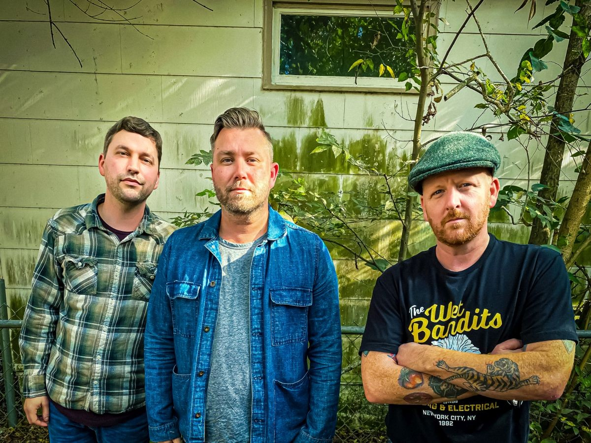 (From Left) Guitarist Blake Yokeley, Lead Vocals and Bassist Brent Collins, and Drummer Sean Moloney. Photo by Brittany Herren