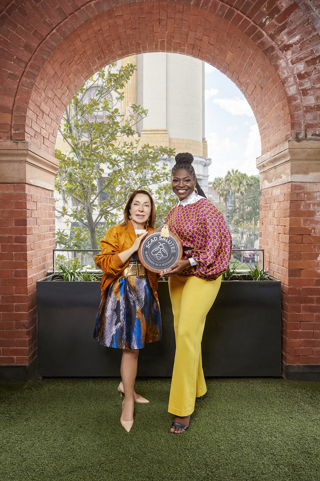 The SCAD Salutes award is given for creativity, kindness, grit, and goodness