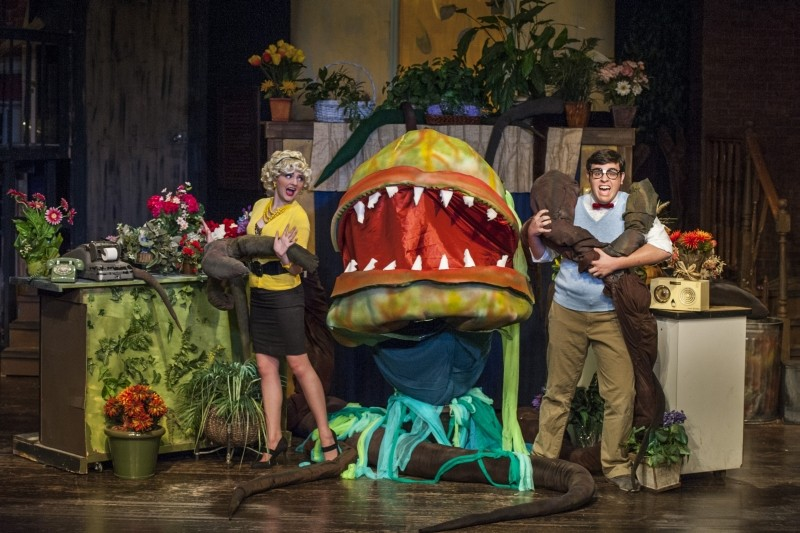 Little Shop of Horrors - PHOTO BY GEOFF L. JOHNSON