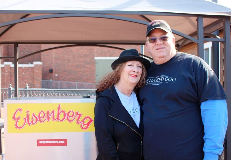 Patsy Hood and husband Jim Hood are owners of The Naked Dog and Repicci's Italian Ice Savannah franchise on River Street.