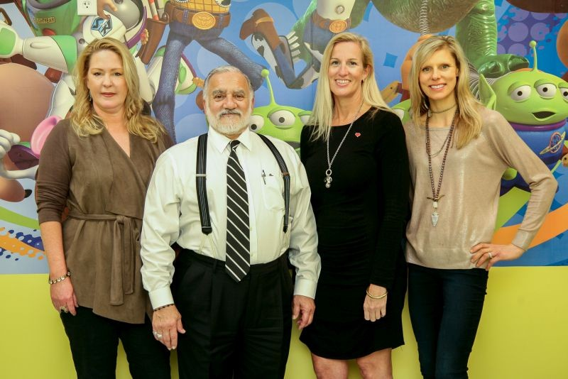 L to R: Children's health advocate Kim Spencer has invited Dr. Ramon Ramos, Dr. Tassie Hargrove and Chelsea Dye along with other local wellness experts to share their wisdom at the Healthy Homes Happy Families Expo on Saturday, Feb. 25. - PHOTO BY JON WAITS