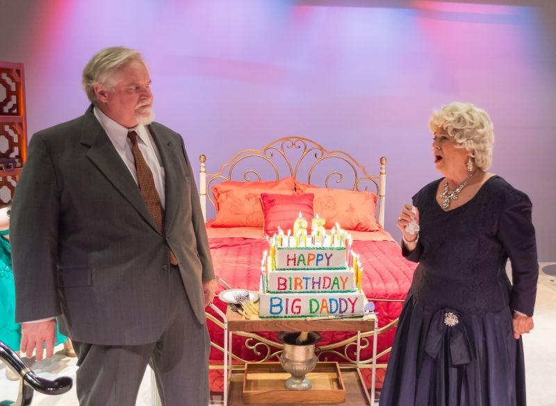 Michael Moynihan as Big Daddy and Mickey Dodge as Big Mama. - PHOTO BY MERCEDEB PHOTOGRAPHY