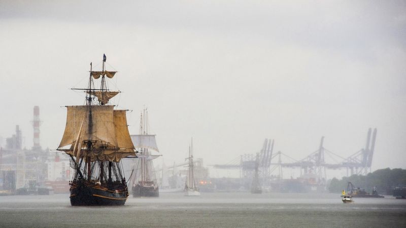 """HMS Bounty."" - PHOTO BY GEOFF L. JOHNSON"