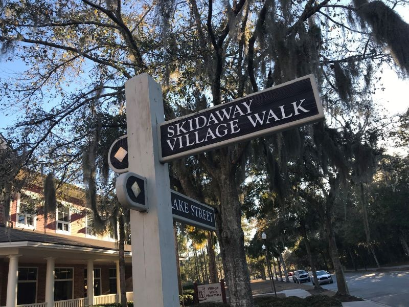 A possible City of Skidaway Island might find its municipal offices at The Village, a cluster of shops serving the island's 8,000 residents.
