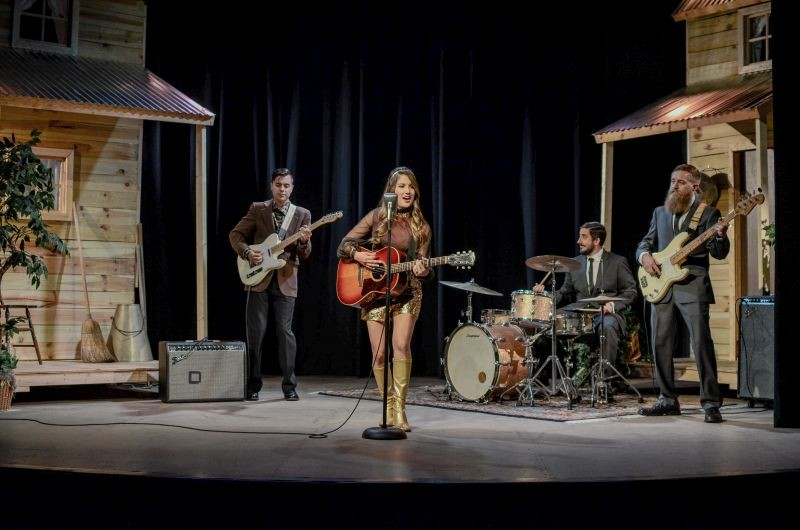 "Lyn Avenue recorded the video for their single ""Kentucky Bourbon"" in the Tybee Post Theater."