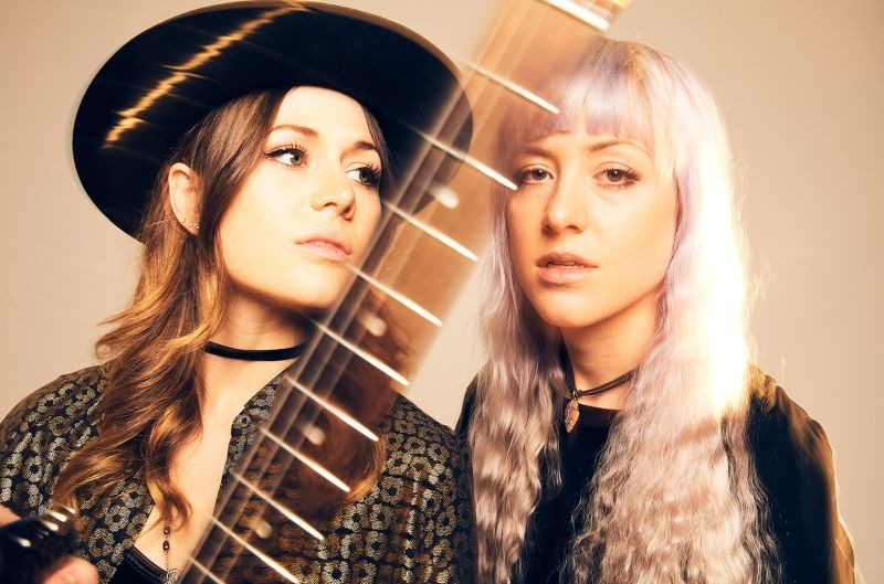 Larkin Poe headline the first night of Savannah Stopover.