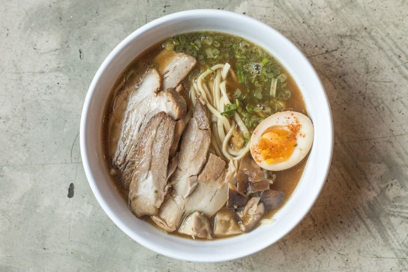 The 'classic' pork ramen.