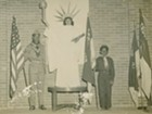 """Images of Boy Scouts with """"Statue of Liberty"""" circa 1950s"""