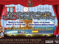 Savannah Children's Theatre's 'Terrible, Horrible, No Good, Very Bad Day'