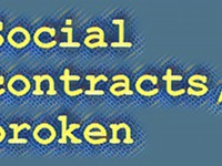 Editor's Note: Social contracts, broken