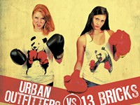 Tale of Two T-shirts: Urban Outfitters vs. 13 Bricks