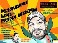 Benefit for Jake Trout @Blowin' Smoke