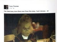 Tony Thomas Facebook posts prompt ethics complaint