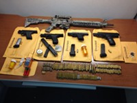 Teens arrested after posing with guns in Daffin Park