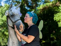 Who wants to saddle up a unicorn?