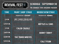 Revival Fest full schedule & vendors released