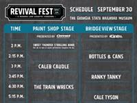 Revival Fest full schedule & vendors released