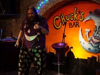 Tuesday means laughs at Chuck's Bar