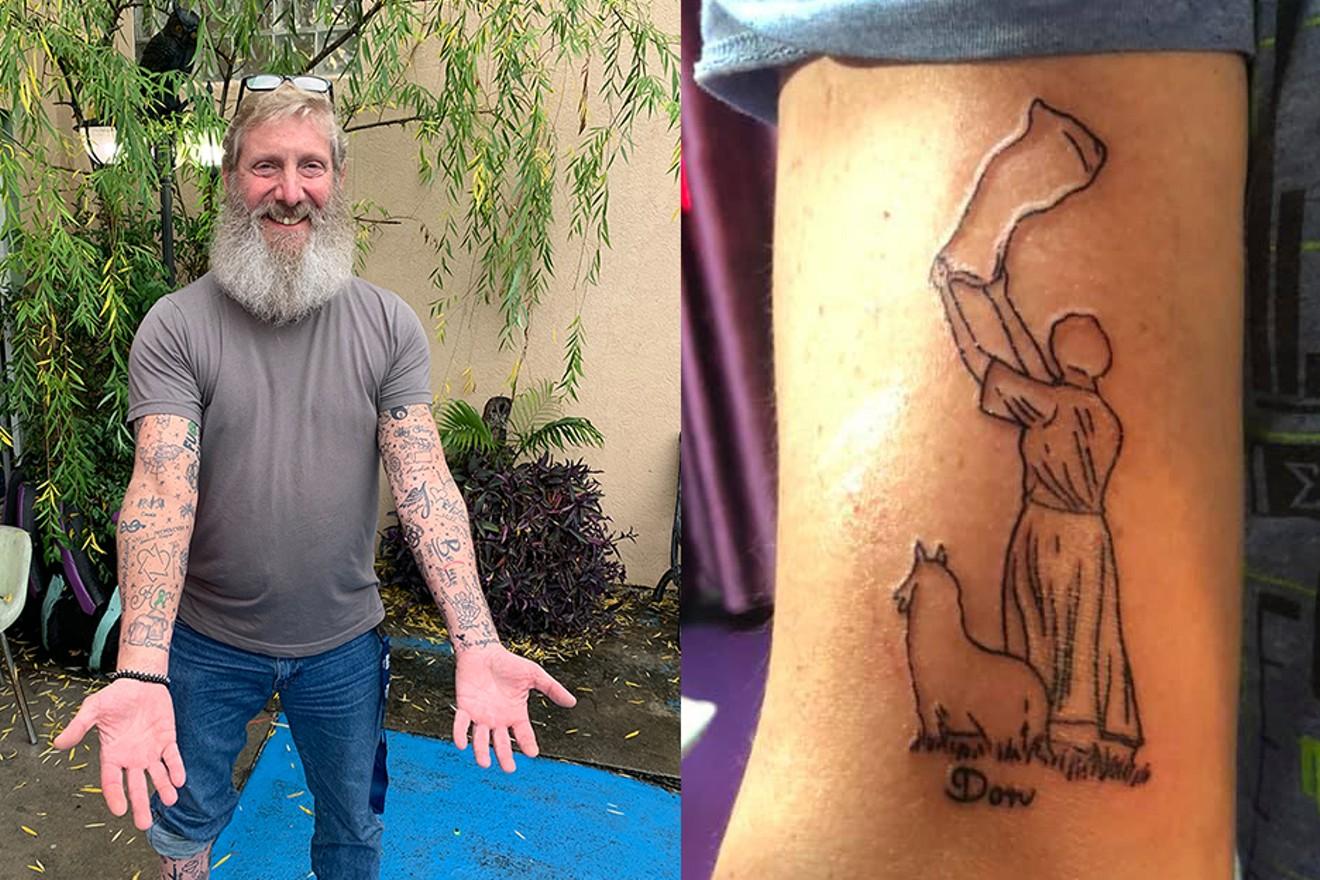 Hope solo tattoo