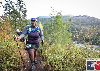 Mountainfilm: Mirna Valerio takes it all in stride