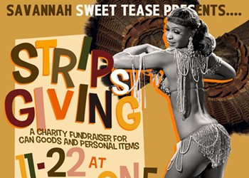 A happy Stripsgiving from Sweet Tease