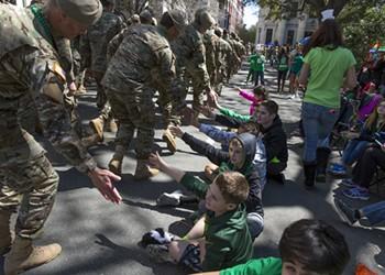 Savannah Saint Patrick's Day Parade 2017 Photos
