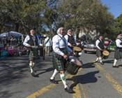 Savannah Saint Patrick's Day Parade 2017