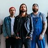 Every Time I Die, Vatican, Sins of Godless Men @The Jinx