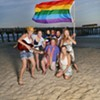Tybee Equality Fest flies the rainbow flag