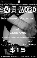 Tied & Tasseled presents SAFE WORD - Uploaded by AmandaA