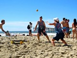 A Spikeball roundnet tournament in San Diego - Uploaded by Harding Brumby