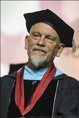John Malkovich at SCAD Commencement 2017