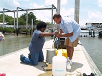 UGA Skidaway Institute samples Ocean Sampling Day