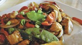 Unami Asian Kitchen is new in the 12 Oaks Shopping Center.