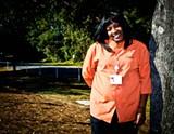 JON WAITS/JWAITSPHOTO@GMAIL.COM - Veteran Sherri Harrison is part of a VA study that tracks the efficacy of treatments for post-traumatic stress disorder.